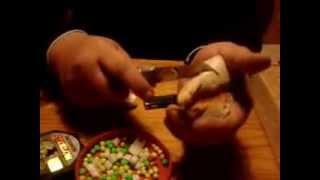 Шарики из пенопласта для рыбалки делаю сам.