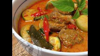 getlinkyoutube.com-วิธีทำแกงเผ็ดเนื้อ Red Curry
