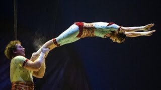 Preview of Cirque du Soleil's new show Kurios