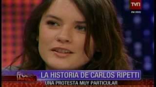 getlinkyoutube.com-Camila Vallejo y Carlos Ripetti ex carabinero - Fruto Prohibido 2011-08-09.flv