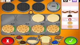 getlinkyoutube.com-Papa's Pancakeria - Better Than Papa! (Rank 43) / All Customers Unlocked