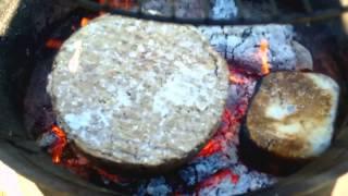 getlinkyoutube.com-DIY paper log burn test