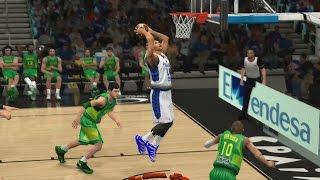 getlinkyoutube.com-FIBA 2K14 Gilas Pilipinas vs The World #11 - Vs Brazil
