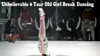 getlinkyoutube.com-Unbelievable 6 Year Old Girl Break Dancing
