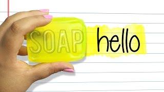 getlinkyoutube.com-DIY HIGHLIGHTERS OUT OF SOAP!