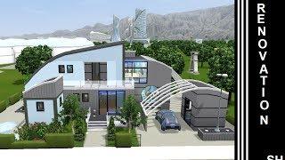 getlinkyoutube.com-The Sims 3 - Into The Future - House Renovation - 1st