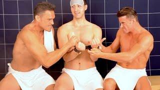 getlinkyoutube.com-50 Shades of Gay - Steam Room Stories.com