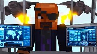 "getlinkyoutube.com-Minecraft | Crazy Craft 3.0 - Ep 53! ""NICK FURY & THE AVENGERS TOWER!"""