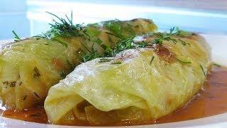 getlinkyoutube.com-Голубцы, фаршированные овощами и рисом видео рецепт. Великий пост.