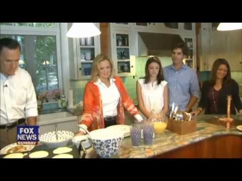 MITT & ANN ROMNEY AT HOME | Fox News Sunday 08-26-12