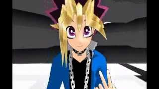 getlinkyoutube.com-[MMD] Yu-Gi-Oh! Bad Romance Yami, Yugi and .....?