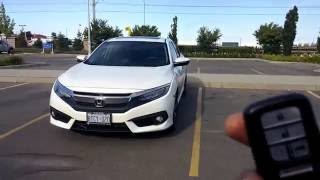 getlinkyoutube.com-Honda Civic 2016 2017 Key Fob; Tips & Tricks (Features), Honda Accord Smart entry system 2016