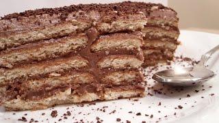 getlinkyoutube.com-Cokoladna keks torta