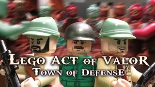 getlinkyoutube.com-Lego Act of Valor:  Town of Defense