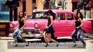 getlinkyoutube.com-Enrique Iglesias - Bailando (Dance collection w/ English Spanish lyrics)
