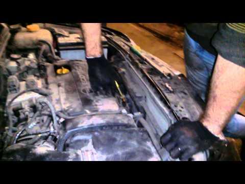 Двигатель как пылесос Opel astra h