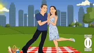 getlinkyoutube.com-מיכל ויניב - החתונה - סרטון אנימציה