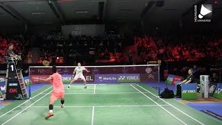 getlinkyoutube.com-Chen Long vs Viktor Axelsen - MS SF [Denmark Open 2015]