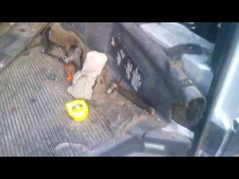 Как снять двигатель на м.автобусе