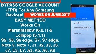 [EASY STEPS] Remove / Bypass Google Account (FRP) For Samsung Galaxy Device