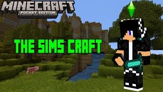 getlinkyoutube.com-Minecraft PE 0.10.5 The Sims Craft MOD