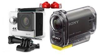 getlinkyoutube.com-Eken H9 Chinese ActionCam vs Sony HDR-AS15 Camera Test Comparison