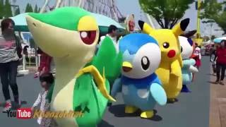 getlinkyoutube.com-Boneka Pokemon Badut Lucu Banget | Khanzahirah