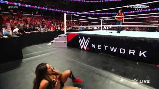 Raw 9/22/14 |  Nikki Bella vs. AJ Lee