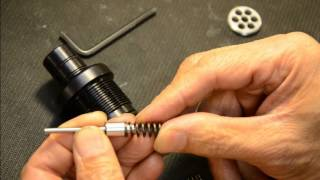 Cricket Valve stem adjustment