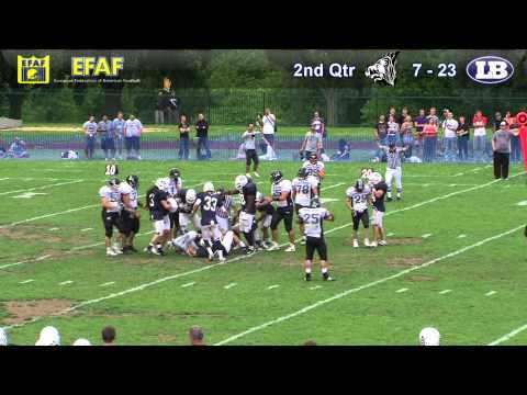 London Blitz v Kragujevac Wild Boars - EFAF Cup Final - 2nd July 2011