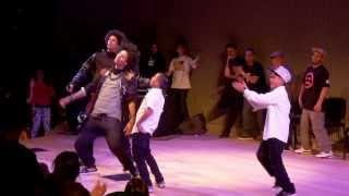 getlinkyoutube.com-LES TWINS vs ART OF TEKNIQUE | City Dance Live | Battle at SFJazz