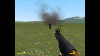 getlinkyoutube.com-Noobs guide: How to kill the slenderman (Garrys mod)