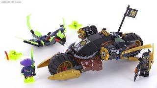 getlinkyoutube.com-LEGO Ninjago Cole's Blaster Bike review! 70733