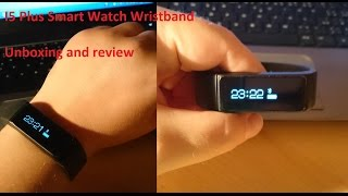 getlinkyoutube.com-I5 Plus / B5 Plus SmartWatch Unboxing and Review - Sleep Monitoring Sports Tracking Wristband