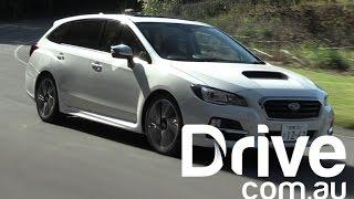 getlinkyoutube.com-2016 Subaru Levorg First Drive Review | Drive.com.au