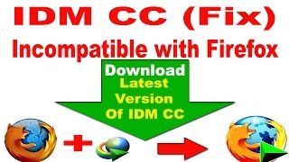 getlinkyoutube.com-How To Fix : IDM cc is Incompatible With Firefox 38,39,40 (All Version)-2016