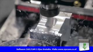 getlinkyoutube.com-Centro de Mecanizado CNC Haas VF 2SS HRC210 Demostración