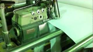 Fully Automatic Quilting Machine - Kinna/Mammut Quilter Line 2 F.O.R