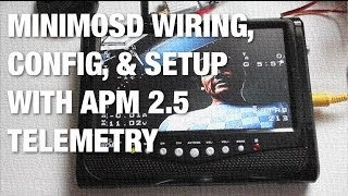 getlinkyoutube.com-APM Telemetry MinimOSD Wiring, Firmware Load, and Configurationt on TBS Discovery Frame