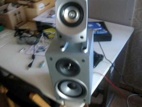 My speaker setup (Logitech z-5500, z3, & JVC G60)