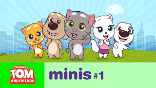 getlinkyoutube.com-Talking Tom and Friends Minis - The Big Move (Episode 1)