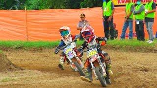 getlinkyoutube.com-Serunya Anak Kecil Balapan Motor cross (Motocross 2016 Championship) di Sirkuit Sleman Yogyakarta