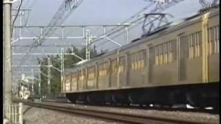 getlinkyoutube.com-【西武701系】1991年 西武新宿線 新101系+701系 急行本川越 田無付近