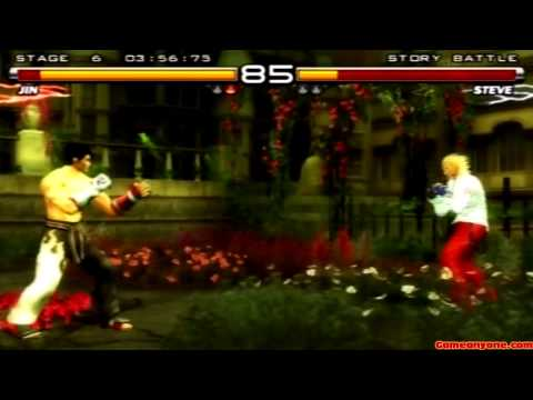 Tekken 5 - Story Battle - Jin Playthrough