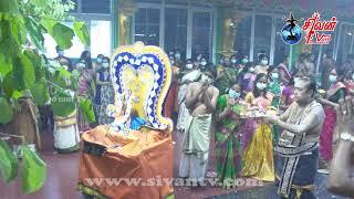 சுவிற்சர்லாந்து சூரிச் அருள்மிகு சிவன் கோவில்  ஆறாம் நாள் இரவு குருந்தமரத்திருவிழா