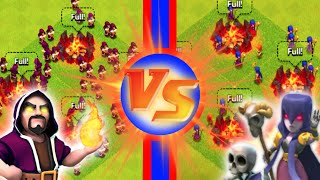 "getlinkyoutube.com-Clash of Clans - ""WITCHES VS WIZARDS"" DAMN YOU GIANT BOMBS! Who Will Be Victorious?"