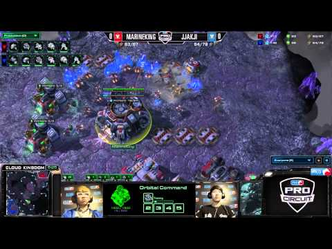 MarineKing vs Jjakji - Game 1 - Round of 32 - MLG Dallas 2013