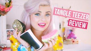 getlinkyoutube.com-Tangle Teezer Review