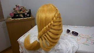 getlinkyoutube.com-Trança da MODA / FASHION braid