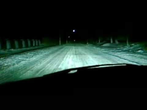 Видео Xedos6 после ретрофита ПТФ+ближний+бида льний.avi